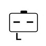 Generator/alternator HC-PARTS CA1637IR