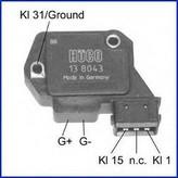 Comutator aprindere HITACHI 138043