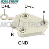 Regulator, alternator MOBILETRON VR-D674