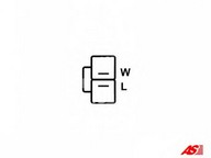 Generator/alternator AS-PL A2003