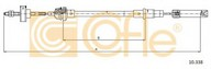 Cablu ambreiaj COFLE 10.338
