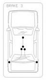 Cablu frana de parcare COFLE 10.5363
