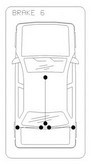 Cablu frana de parcare COFLE 10.6202