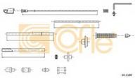 Cablu acceleratie COFLE 10.1180