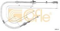 Cablu acceleratie COFLE 1403.4