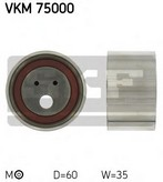 Rola intinzator, curea distributie SKF VKM 75000