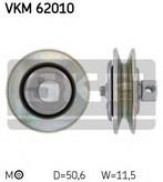 Intinzator, curea trapezoidala SKF VKM 62010