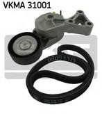 Set curea transmisie cu caneluri SKF VKMA 31001