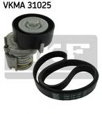 Set curea transmisie cu caneluri SKF VKMA 31025