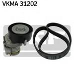 Set curea transmisie cu caneluri SKF VKMA 31202