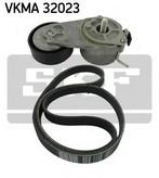 Set curea transmisie cu caneluri SKF VKMA 32023