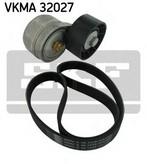 Set curea transmisie cu caneluri SKF VKMA 32027