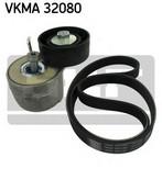 Set curea transmisie cu caneluri SKF VKMA 32080
