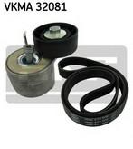 Set curea transmisie cu caneluri SKF VKMA 32081