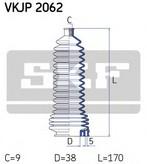 Burduf bieleta directie RENAULT Symbol  (LB0/1/2_) 1.6 16V (79KW / 107CP)SKF VKJP 2062