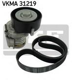 Set curea transmisie cu caneluri SKF VKMA 31219