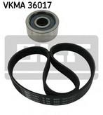 Set curea transmisie cu caneluri SKF VKMA 36017