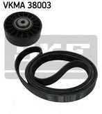 Set curea transmisie cu caneluri SKF VKMA 38003