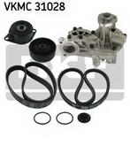 Pompa apa+set curea transmisie cu caneluri SKF VKMC 31028