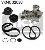Pompa apa+set curea transmisie cu caneluri SKF VKMC 31030