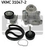 Pompa apa+set curea transmisie cu caneluri SKF VKMC 31047-2
