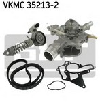 Pompa apa+set curea transmisie cu caneluri SKF VKMC 35213-2