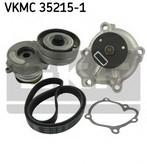 Pompa apa+set curea transmisie cu caneluri SKF VKMC 35215-1