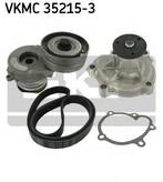 Pompa apa+set curea transmisie cu caneluri SKF VKMC 35215-3