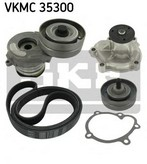 Pompa apa+set curea transmisie cu caneluri SKF VKMC 35300