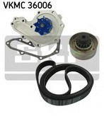 Pompa apa+set curea transmisie cu caneluri SKF VKMC 36006