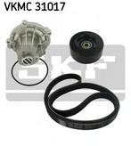 Pompa apa+set curea transmisie cu caneluri SKF VKMC 31017