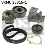 Pompa apa+set curea transmisie cu caneluri SKF VKMC 35315-1