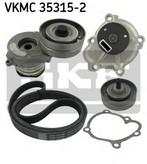 Pompa apa+set curea transmisie cu caneluri SKF VKMC 35315-2