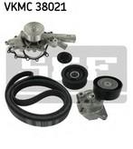 Pompa apa+set curea transmisie cu caneluri SKF VKMC 38021