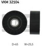 Rola ghidare/conducere, curea transmisie SKF VKM 32104