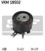 Rola intinzator, curea distributie SKF VKM 18502