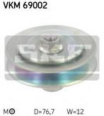 Intinzator, curea trapezoidala SKF VKM 69002