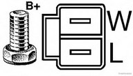 Generator/alternator HERTH BUSS JAKOPARTS J5114044