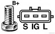 Generator/alternator HERTH BUSS JAKOPARTS J5112086