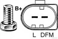 Generator/alternator HERTH BUSS JAKOPARTS J5111111