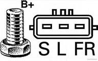 Generator/alternator HERTH BUSS JAKOPARTS J5110536