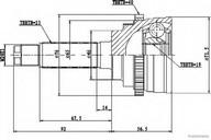 Set articulatie, planetara HERTH BUSS JAKOPARTS J2820907