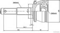 Set articulatie, planetara HERTH BUSS JAKOPARTS J2821003