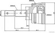 Set articulatie, planetara HERTH BUSS JAKOPARTS J2821126