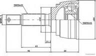 Set articulatie, planetara HERTH BUSS JAKOPARTS J2825005