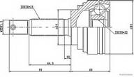 Set articulatie, planetara HERTH BUSS JAKOPARTS J2825014