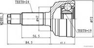 Set articulatie, planetara HERTH BUSS JAKOPARTS J2826021