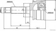 Set articulatie, planetara HERTH BUSS JAKOPARTS J2828002