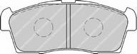 Set placute frana, frana disc FERODO FDB1812