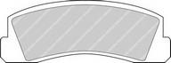 Set placute frana, frana disc FERODO FDB195